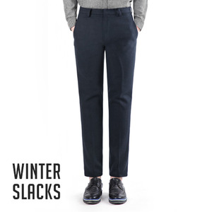 TRMARK MASTER FIT WOOLEN SLACKS NAVY