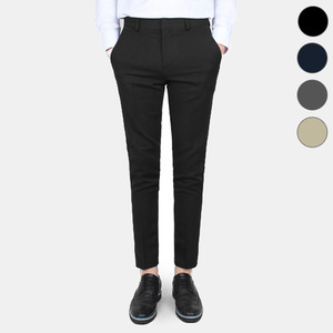 TRMARK MASTER FIT 9CUT SLACKS BLACK